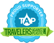 Travelers Against Plastic Organization Logo