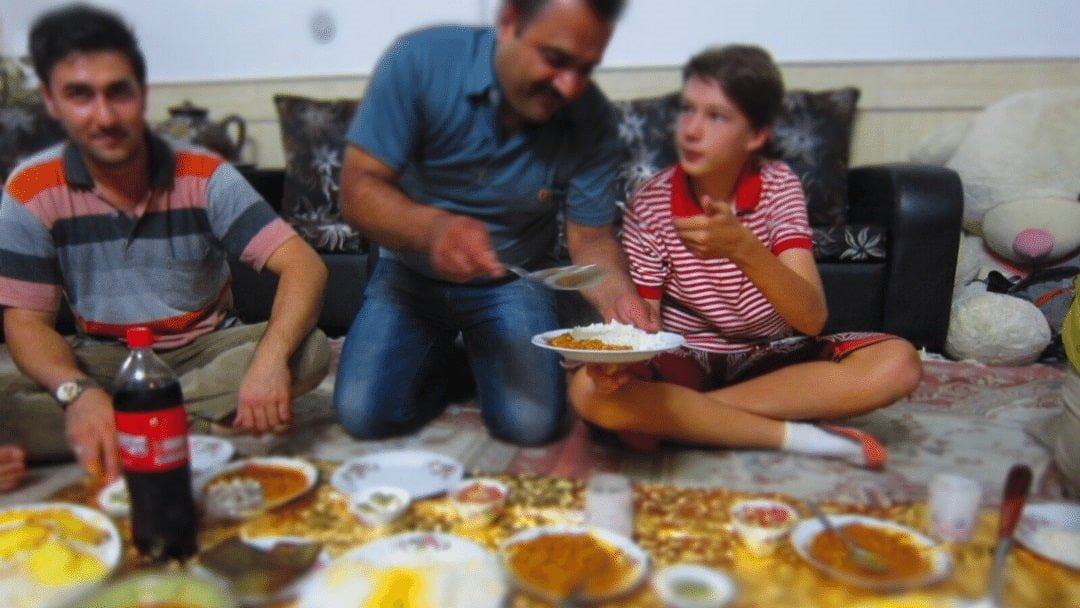 Cooking class and family style meal in Iran