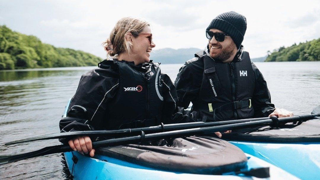 Kayakers along Ireland's Wild Atlantic Way