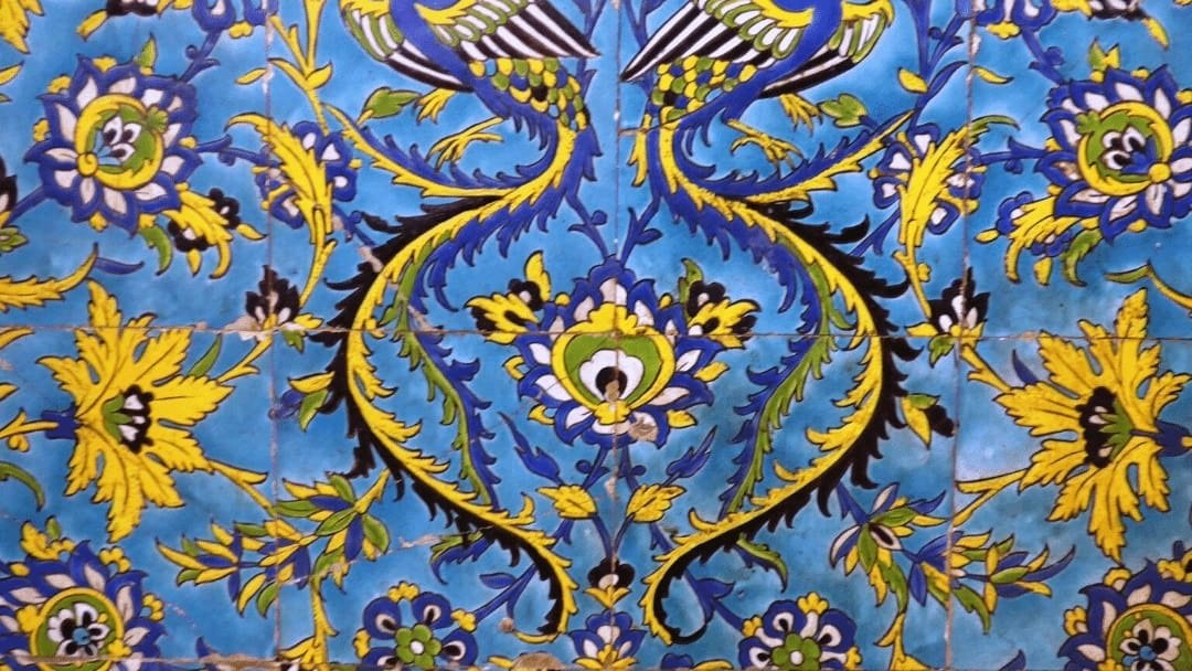 Persian tilework