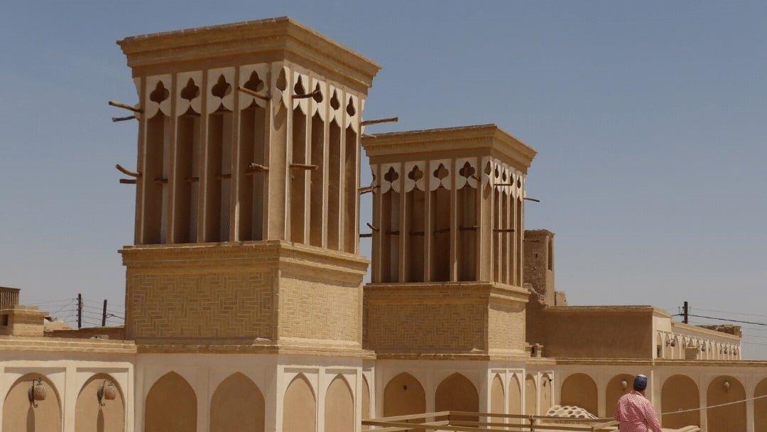 Wind Towers in Yazd, Iran