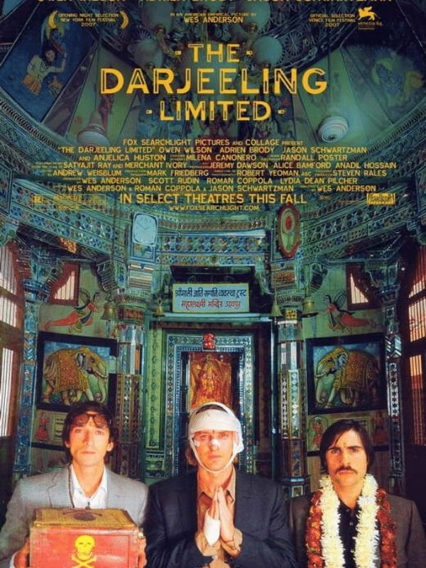 Movie poster for The Darjeeling Limited