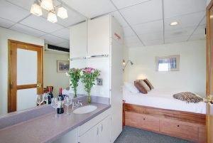 UnCruise Navigator cabin on Wilderness Explorer
