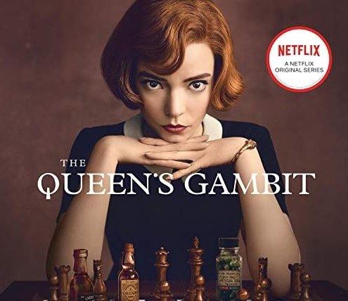 Netflix poster for Queen's Gambit